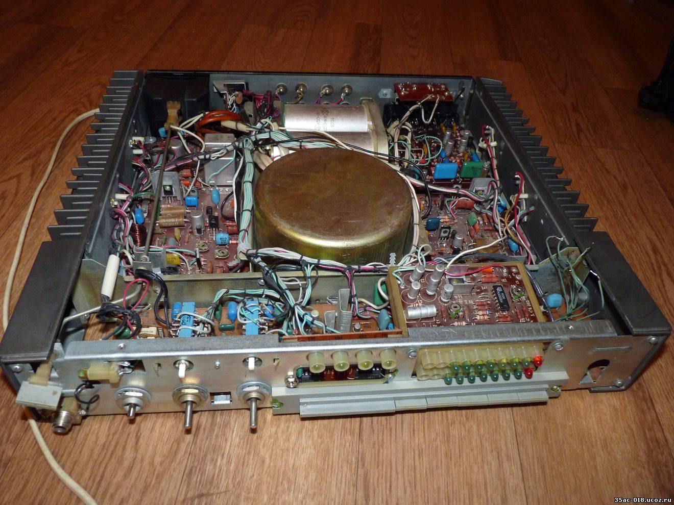 Усилитель Кумир 35У-102С-1 - схема, внешний вид, фото