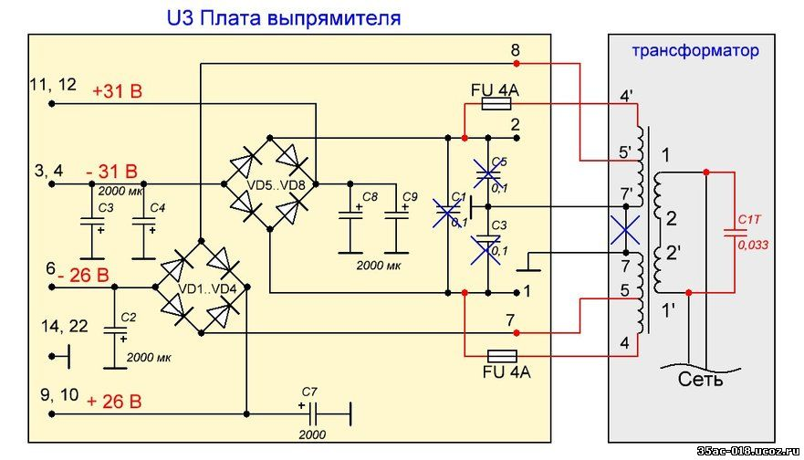 Усилитель Радиотехника У-7101